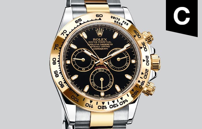 A fast-paced piece from Rolex