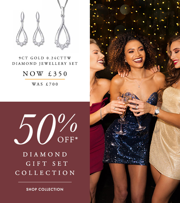 50% Off The Diamond Gift Set Collection