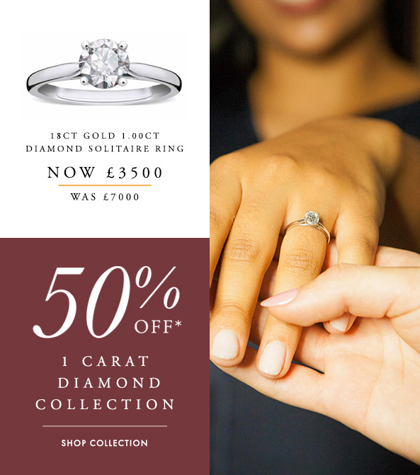 50% Off The 1ct Diamond Collection