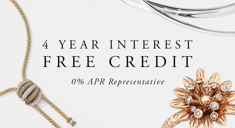 Jewellery Interest Free Credit