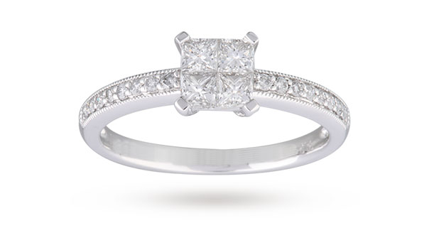 rings of engagement carat diamond on finger awesome size fancut ring