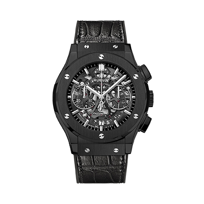 Hublot Aero Fusion Black Magic Mens Watch